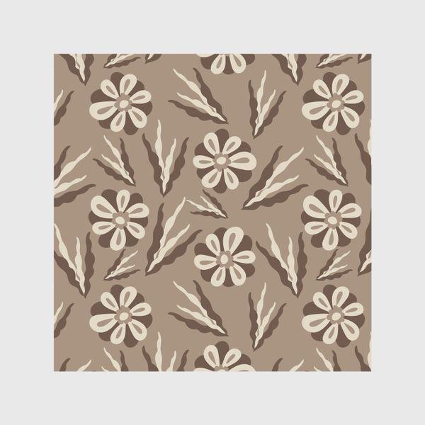 Шторы «Простые цветы в пастельных тонах»