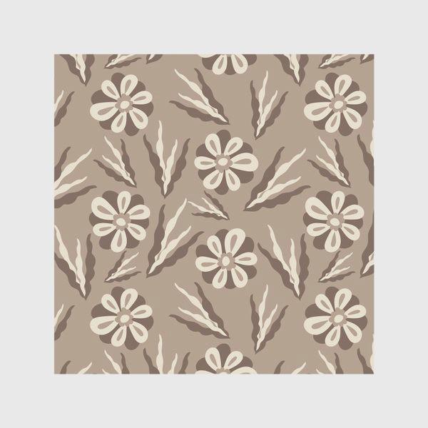 Скатерть «Простые цветы в пастельных тонах»