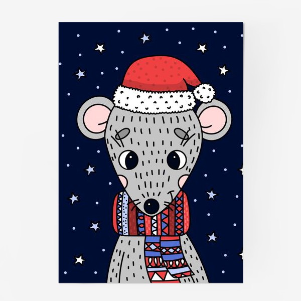 Постер «мышка»