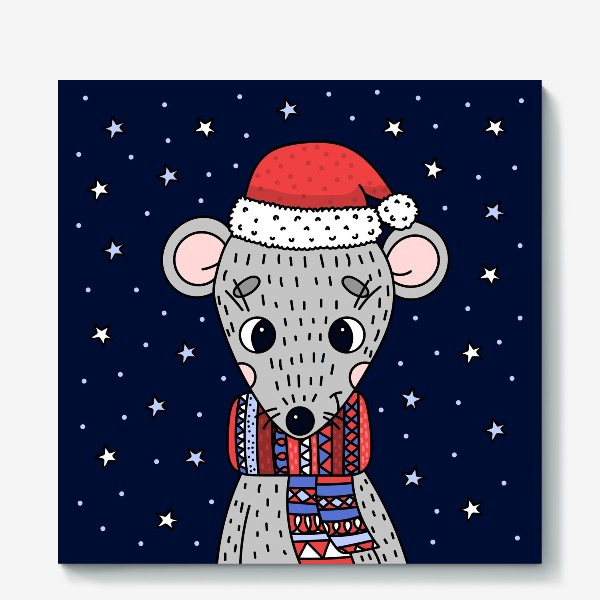 Холст «мышка»
