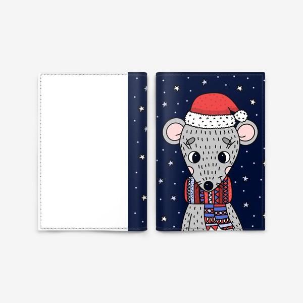 Обложка для паспорта «мышка»