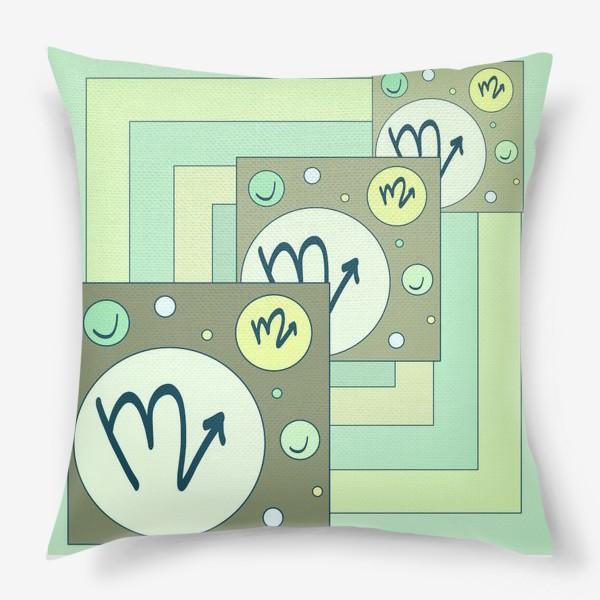 Подушка «Знак зодиака Скорпион»