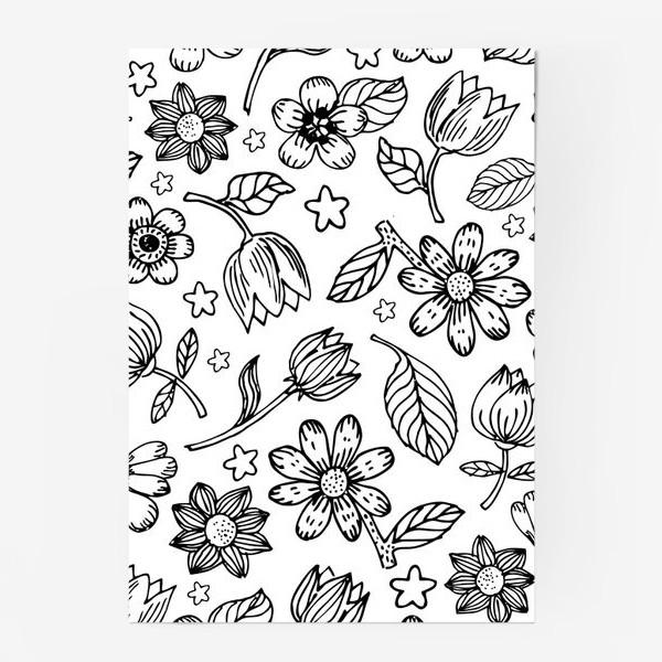 Постер «Легкий цветочный узор»