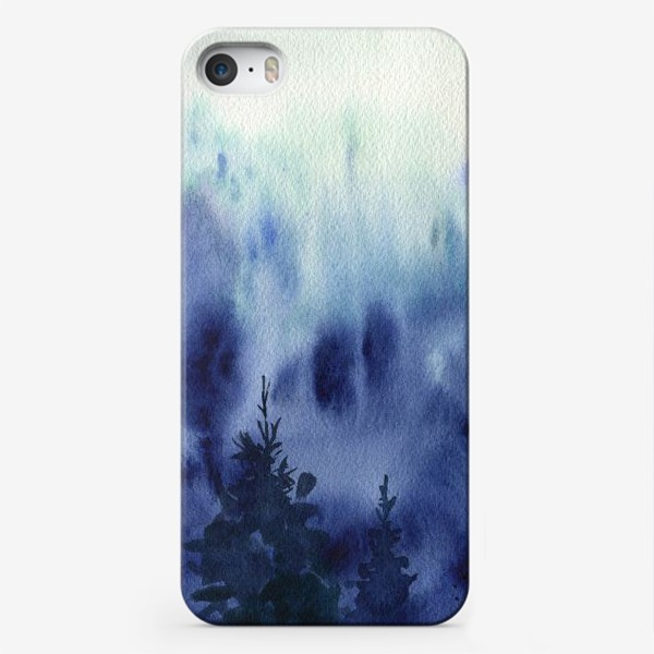 Чехол iPhone «Blue forest»