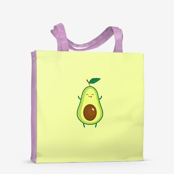 Сумка-шоппер «Авокадо дразнится»
