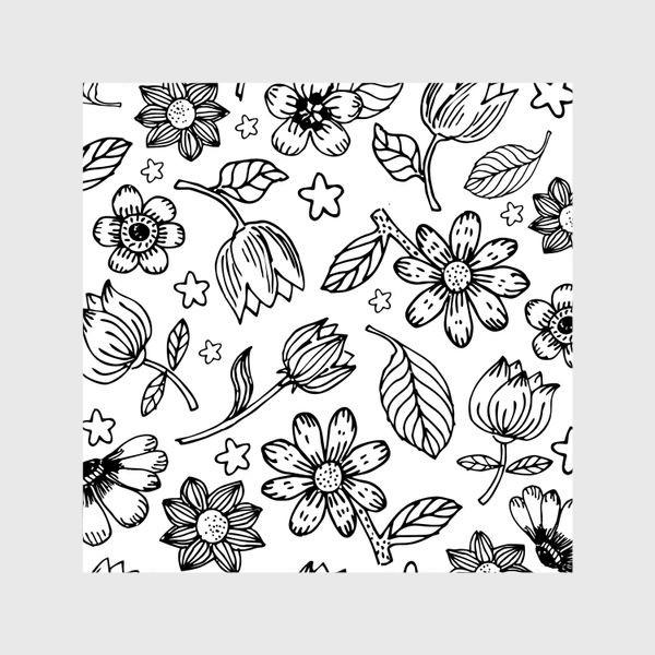 Шторы «Легкий цветочный узор»