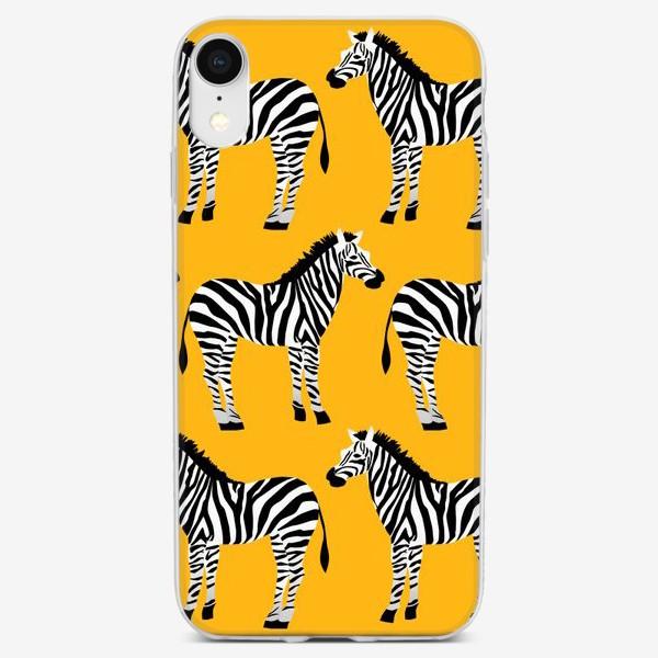 Чехол iPhone «Зебры»