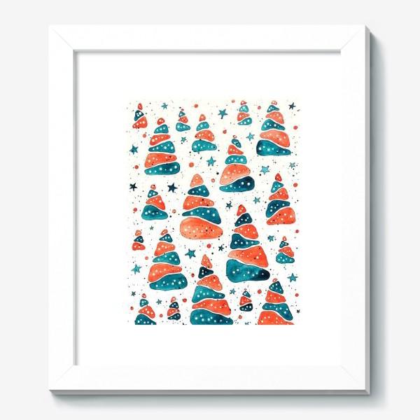 Картина «Ёлочки новогодние»