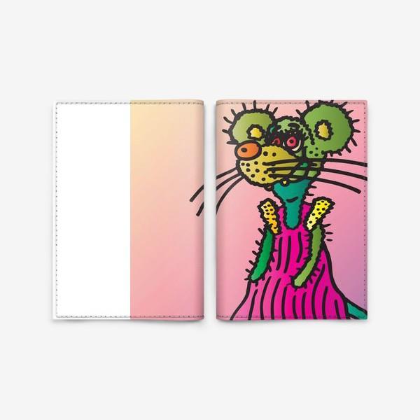 Обложка для паспорта «Год Мыши 2020 от Виктории Дерегус_04»