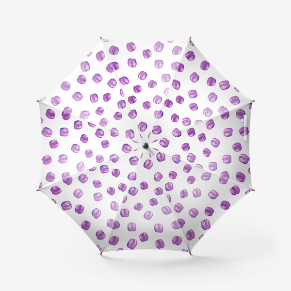 Зонт «Патерн со сливами»