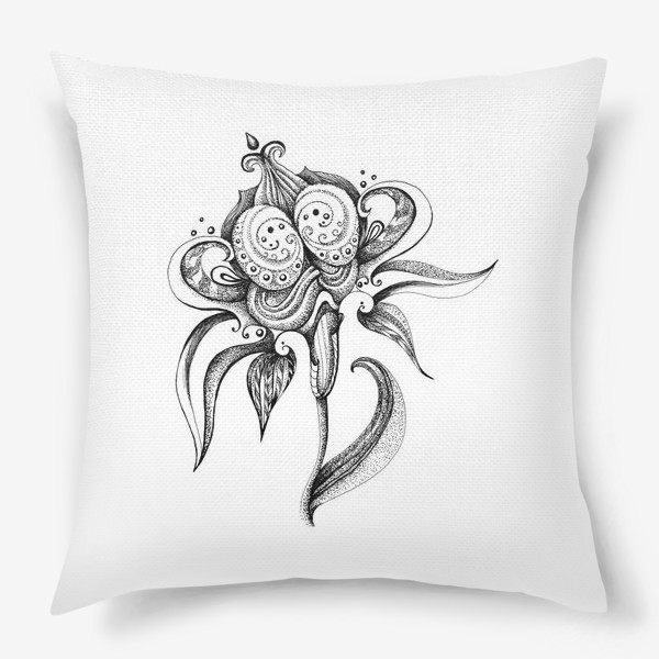 Подушка «цветок»