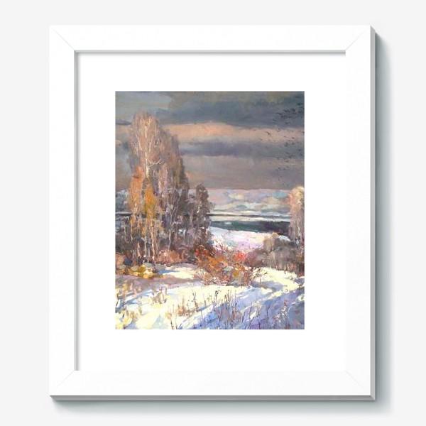 Картина «Зима будет снежной»