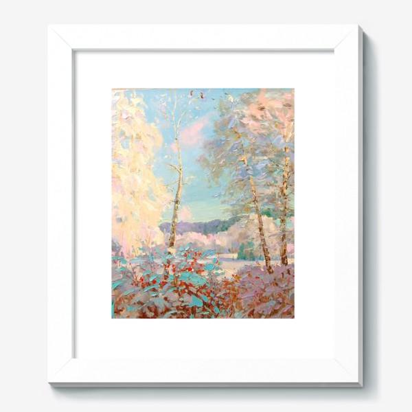 Картина «Мороз и солнце»