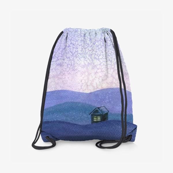 Рюкзак «Зимний пейзаж»