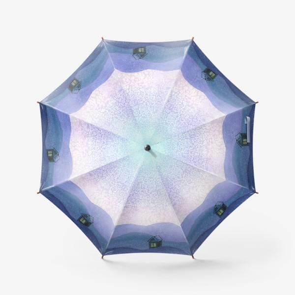Зонт «Зимний пейзаж»