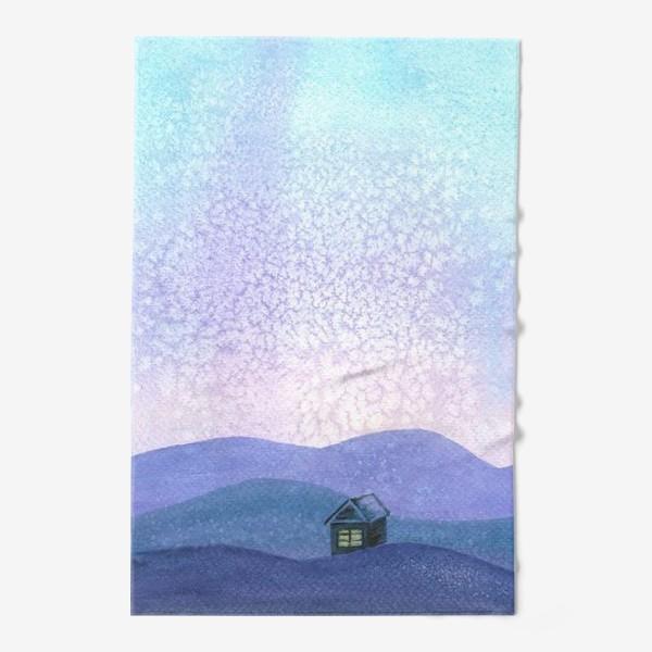 Полотенце «Зимний пейзаж»