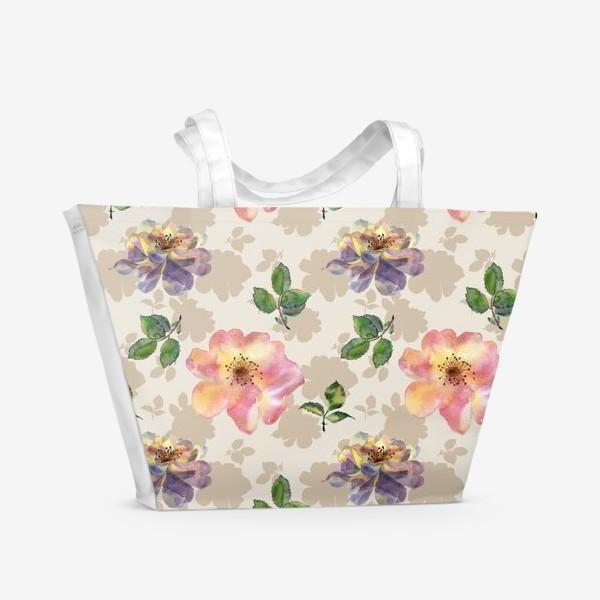 Пляжная сумка «Rose »