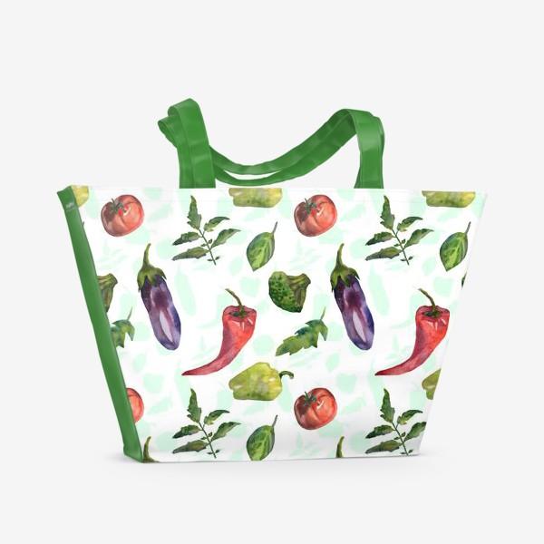 Пляжная сумка «Om-Nom-nom»