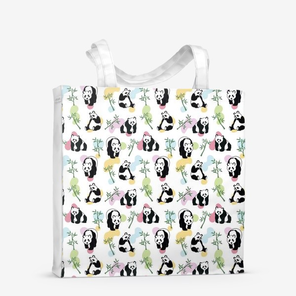 Сумка-шоппер «Панды»