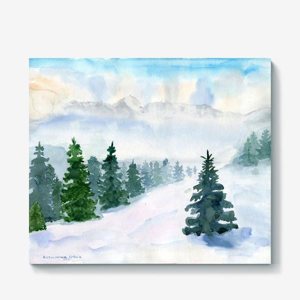 Холст «Winter fairy tale»