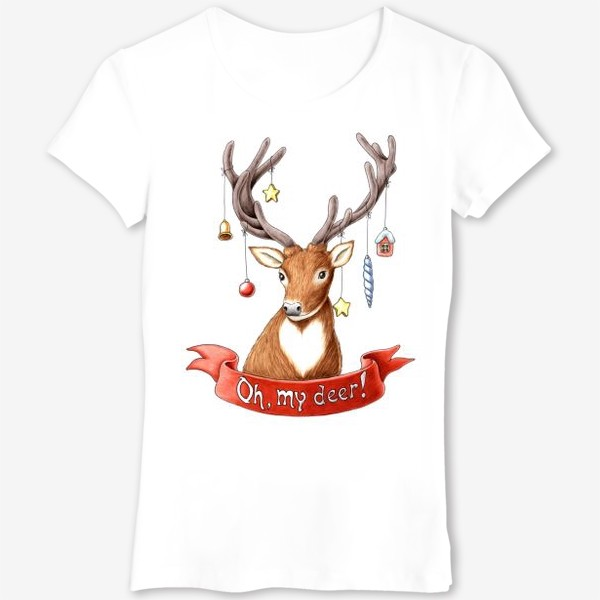 Футболка «My deer»