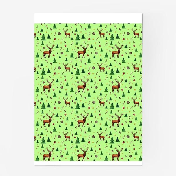 Постер «Лесные обитатели»