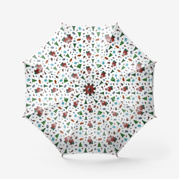 Зонт «Такой Санта»
