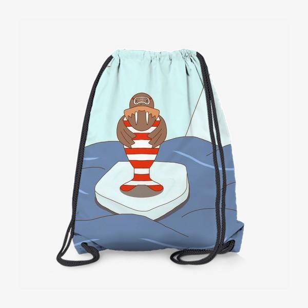 Рюкзак «Морж-стиляга»