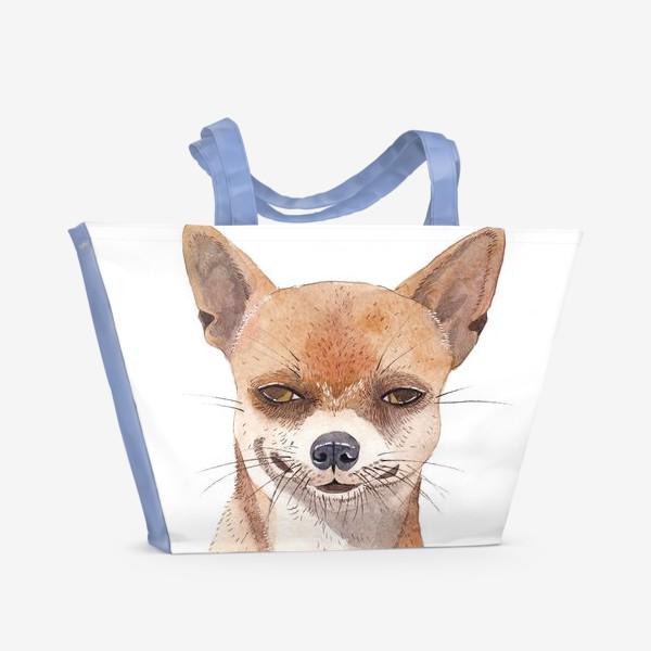 Пляжная сумка «Чи-хуа-хуа»