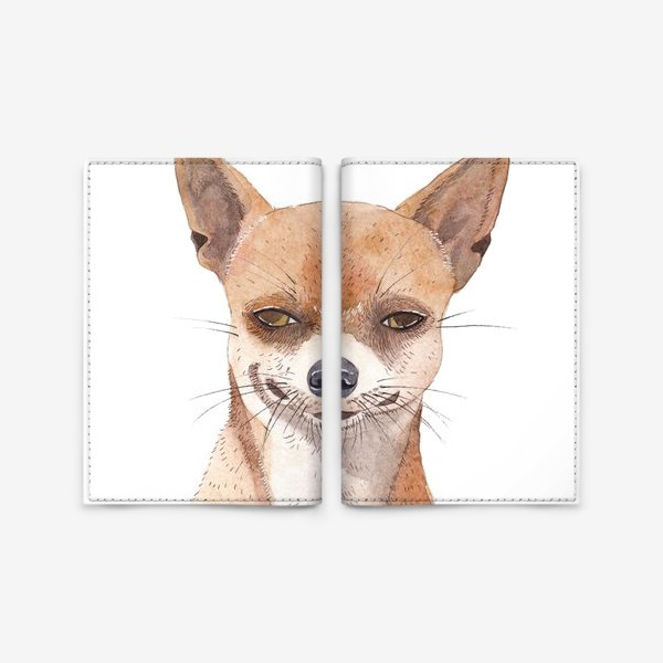 Обложка для паспорта «Чи-хуа-хуа»