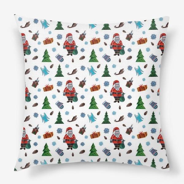Подушка «Такой Санта»