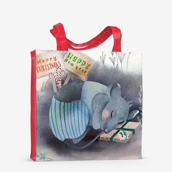 Сумка-шоппер «Спящий мышонок»