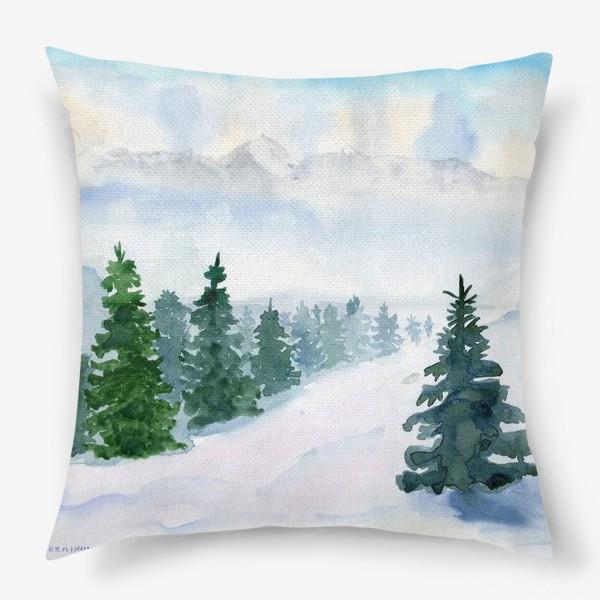 Подушка «Winter fairy tale»