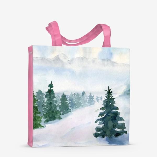 Сумка-шоппер «Winter fairy tale»