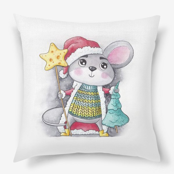 Подушка «Символ года Мышь»