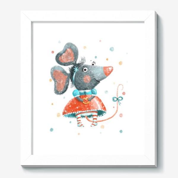 Картина «Подарок с крысой, символ 2020»