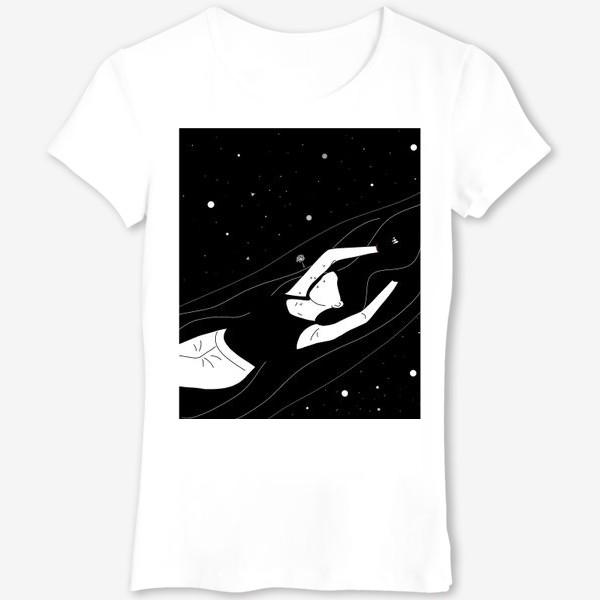 Футболка «В космическом потоке»