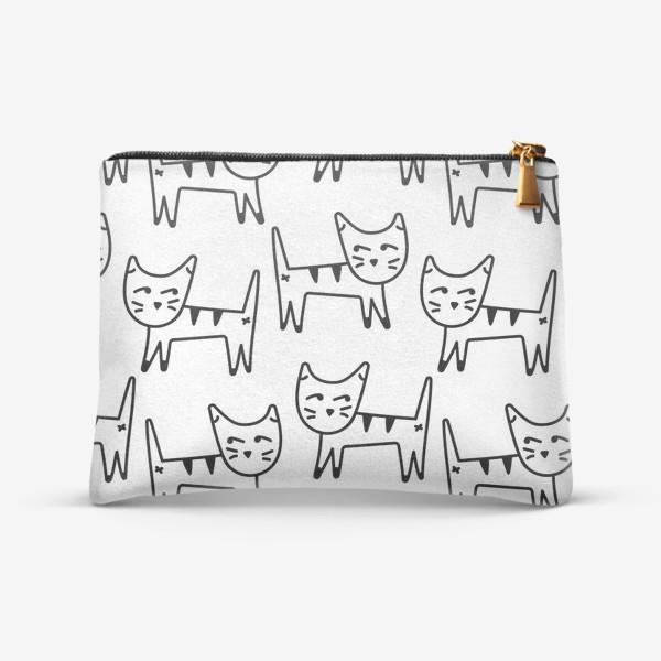 Косметичка «Коты»