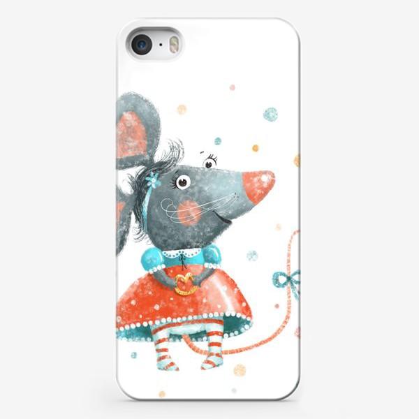 Чехол iPhone «Подарок с крысой, символ 2020»