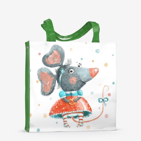 Сумка-шоппер «Подарок с крысой, символ 2020»