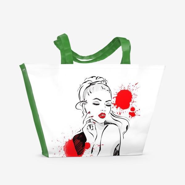 Пляжная сумка «Яркий образ»