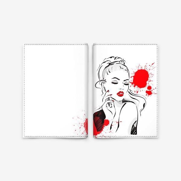 Обложка для паспорта «Яркий образ»
