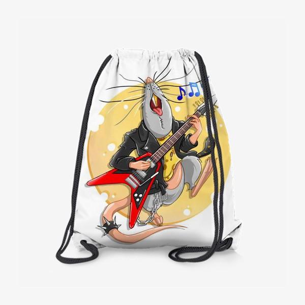 Рюкзак «металлическая крыса »