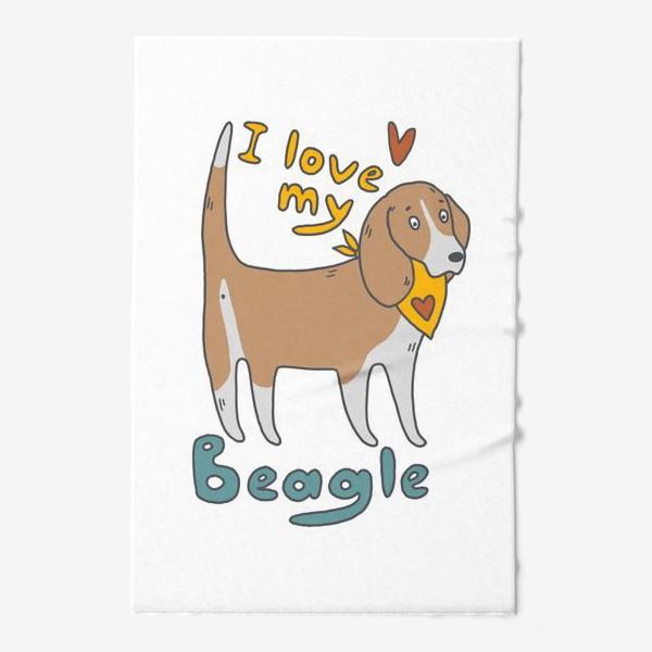 Полотенце «Бигль»