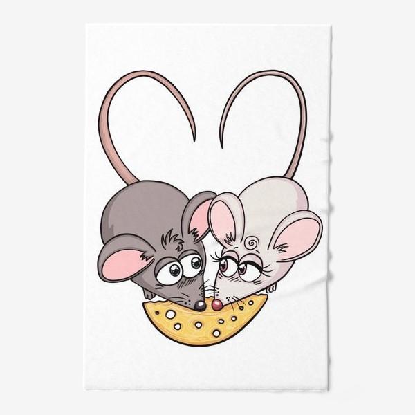 Полотенце «Крыски с сыром»