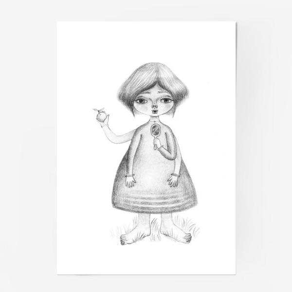 Постер «Девочка-Троль»