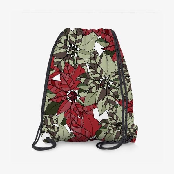 Рюкзак «пуансеттия»