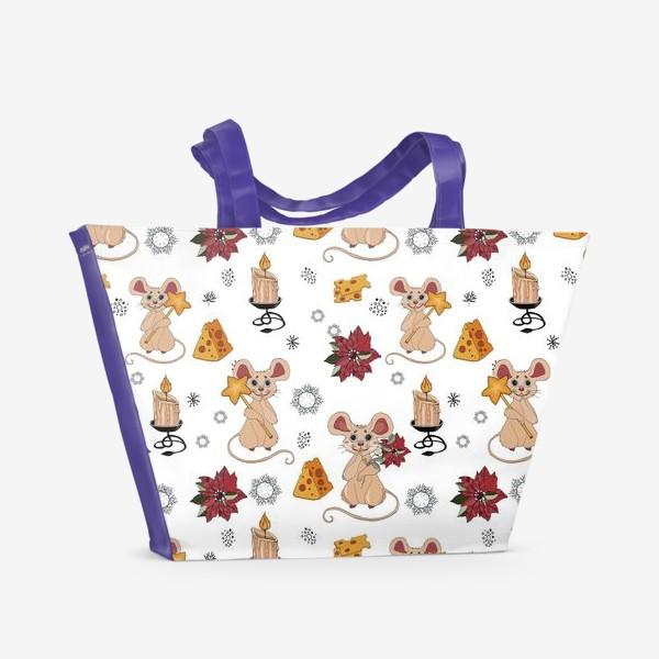 Пляжная сумка «мыши сыр»