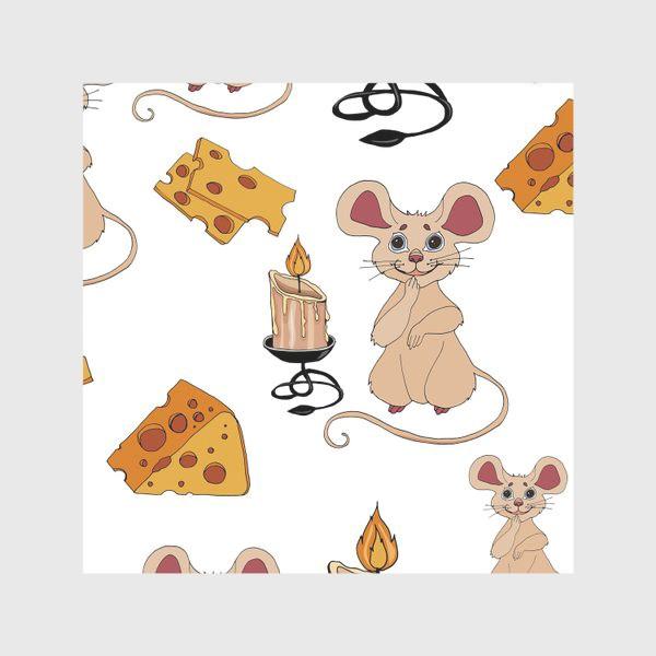 Скатерть «паттерн мышки »