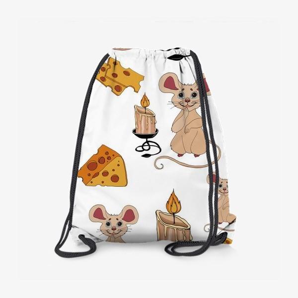 Рюкзак «паттерн мышки »